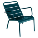 Luxembourg Low Armchair, Acapulco blue