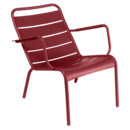Luxembourg Low Armchair, Chili