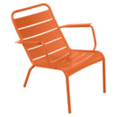 Luxembourg Low Armchair, Carrot