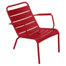 Luxembourg Low Armchair, Poppy