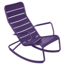 Luxembourg Rocking Chair, Aubergine