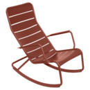Luxembourg Rocking Chair, Red ochre
