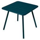 Luxembourg Balcony Table, Acapulco blue