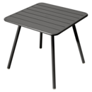 Luxembourg Balcony Table, Liquorice