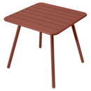 Luxembourg Balcony Table, Red ochre