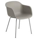 Fiber Armchair Tube, Grey