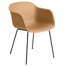 Fiber Armchair Tube, Ochre/Black