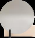Hoffmann Mirror, Waxed ash / black
