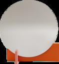 Hoffmann Mirror, Pure orange / apricot
