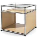 USM Haller Side Table with Extension, USM beige