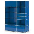USM Haller Wardrobe Model I, Gentian blue RAL 5010