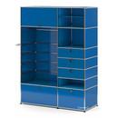 USM Haller Wardrobe Model II, Gentian blue RAL 5010