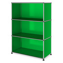 USM Haller Highboard M open, USM green