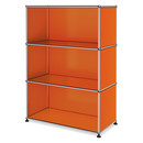 USM Haller Highboard M open, Pure orange RAL 2004