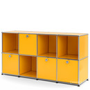 USM Haller Sideboard for Kids, Golden yellow RAL 1004