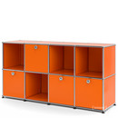 USM Haller Sideboard for Kids, Pure orange RAL 2004