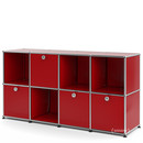 USM Haller Sideboard for Kids, USM ruby red