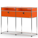 USM Haller Console Table, Pure orange RAL 2004