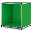 USM Haller Side Table Open, USM green