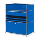 USM Haller Surgery Sideboard, Gentian blue RAL 5010, No locks