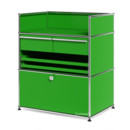 USM Haller Surgery Sideboard, USM green, No locks