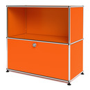 USM Haller Sideboard M with 1 Drop-down Door, Pure orange RAL 2004