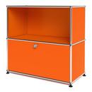 USM Haller Sideboard M with 1 Drop-down Door, Pure orange RAL 2004