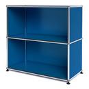 USM Haller Sideboard M open, Gentian blue RAL 5010