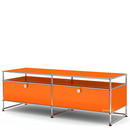USM Haller TV-Board L, Pure orange RAL 2004