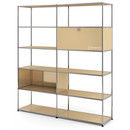 USM Haller Living Room Shelf L, USM beige