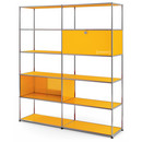 USM Haller Living Room Shelf L, Golden yellow RAL 1004