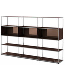 USM Haller Living Room Shelf XL, USM brown