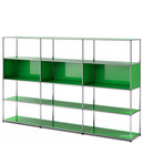 USM Haller Living Room Shelf XL, USM green