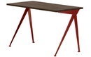 Compas Direction, Smoked oak solid wood, oiled, Japanese red