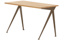Compas Direction, Natural oak solid, oiled, Coffee