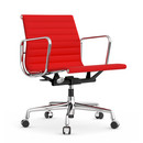 Aluminium Group EA 117, Chrome-plated, Hopsak, Red / poppy red