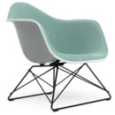 LAR, Light grey, Full upholstery ice blue / ivory, Coated basic dark