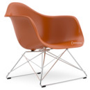 LAR, Rusty orange, Without upholstery, Chrome-plated