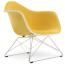 LAR, Sunlight, Full upholstery yellow / ivory, Chrome-plated