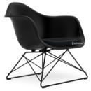 LAR, Deep black, Seat upholstery nero, Coated basic dark