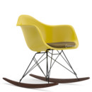 RAR with Upholstery, Mustard, With seat upholstery, Mustard / ivory, Without border welting, Basic dark/dark maple