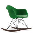 RAR with Upholstery, Green, With seat upholstery, Green / ivory, Without border welting, Basic dark/dark maple
