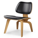 Plywood Group LCW / LCW Leather, Natural ash, seat leather nero