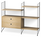 String - String System Floor Shelf with Drawers