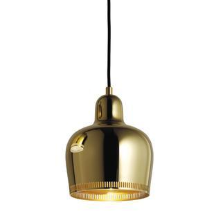 Pendant Lamp A330S Golden Bell Brass