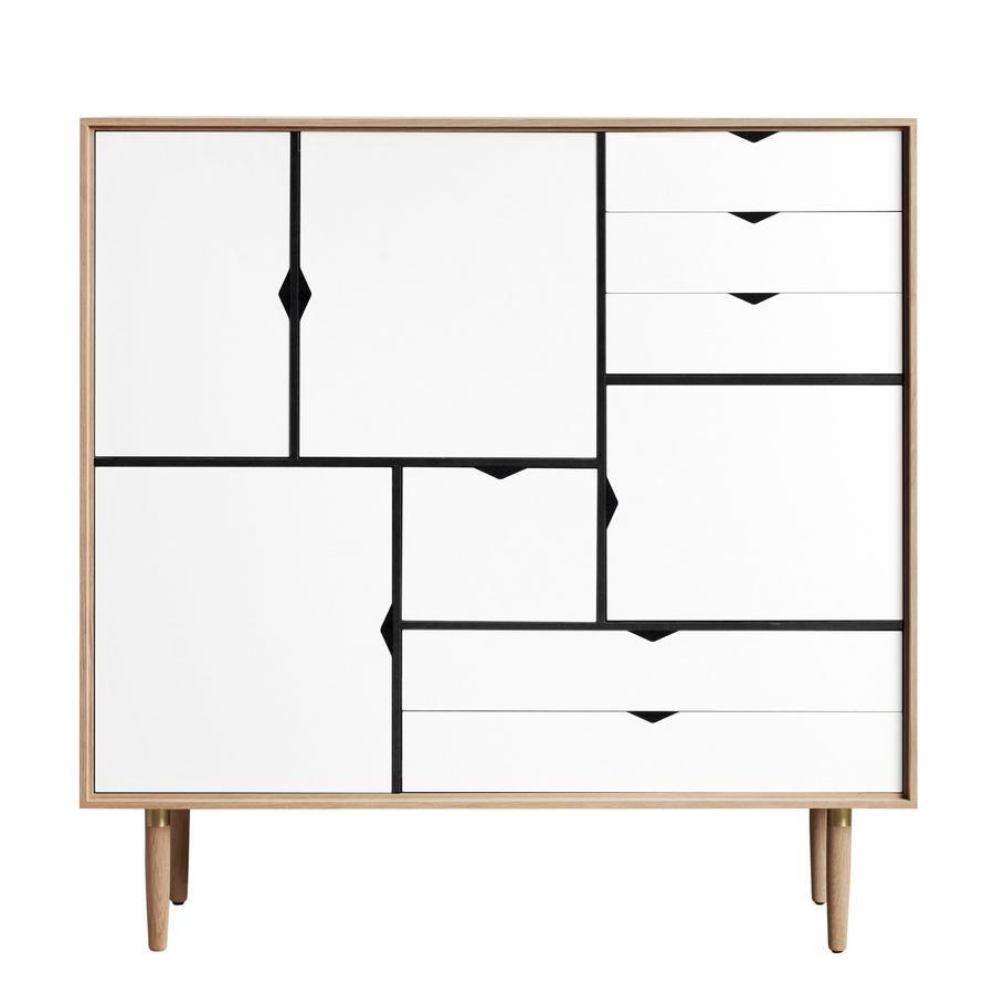 Andersen S3 Drawer, Soaped oak, White by byKATO, 2014 - Designer ...