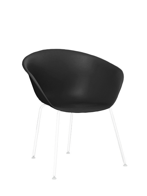 Remarkable Arper Duna 02 Tube Machost Co Dining Chair Design Ideas Machostcouk