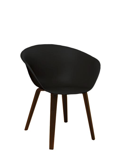 Strange Arper Duna 02 Wood Machost Co Dining Chair Design Ideas Machostcouk