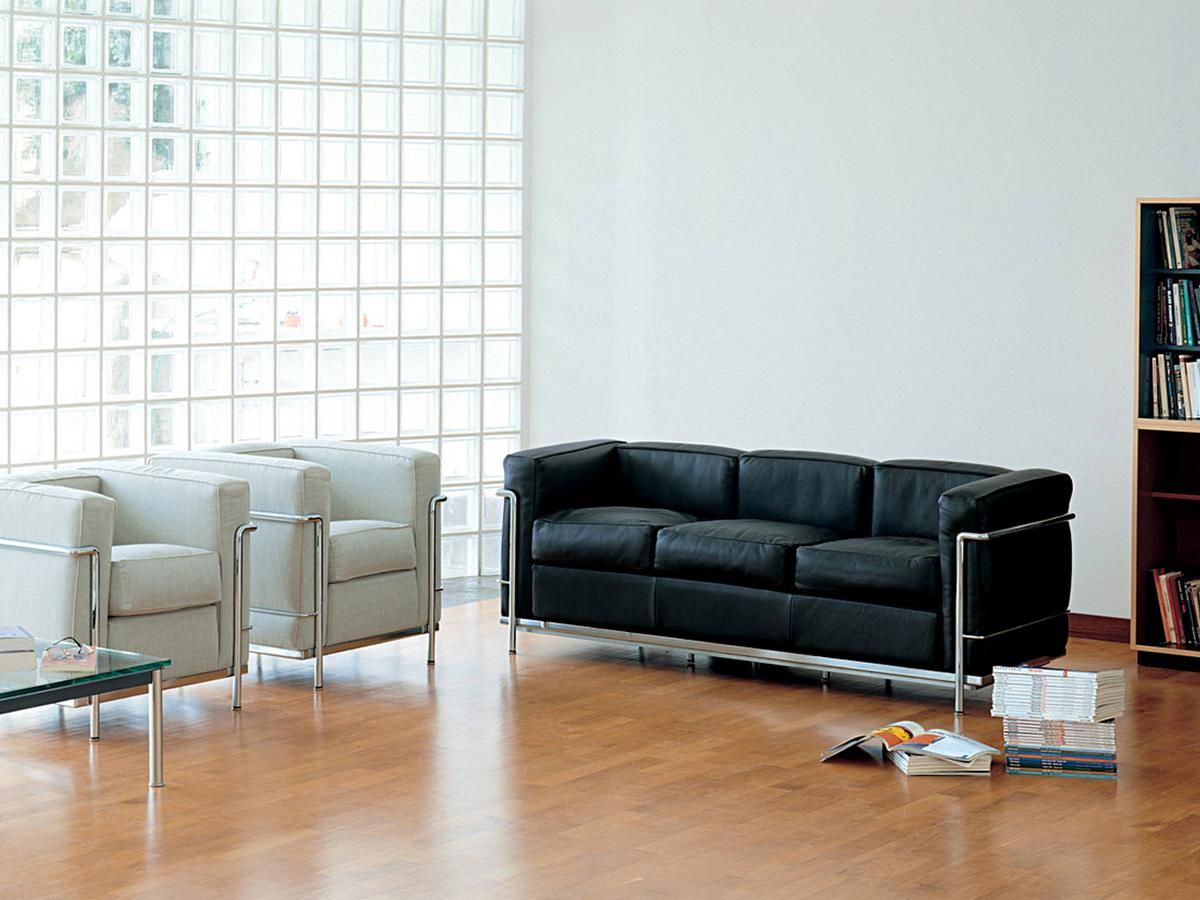Lc2 Sofa By Le Corbusier