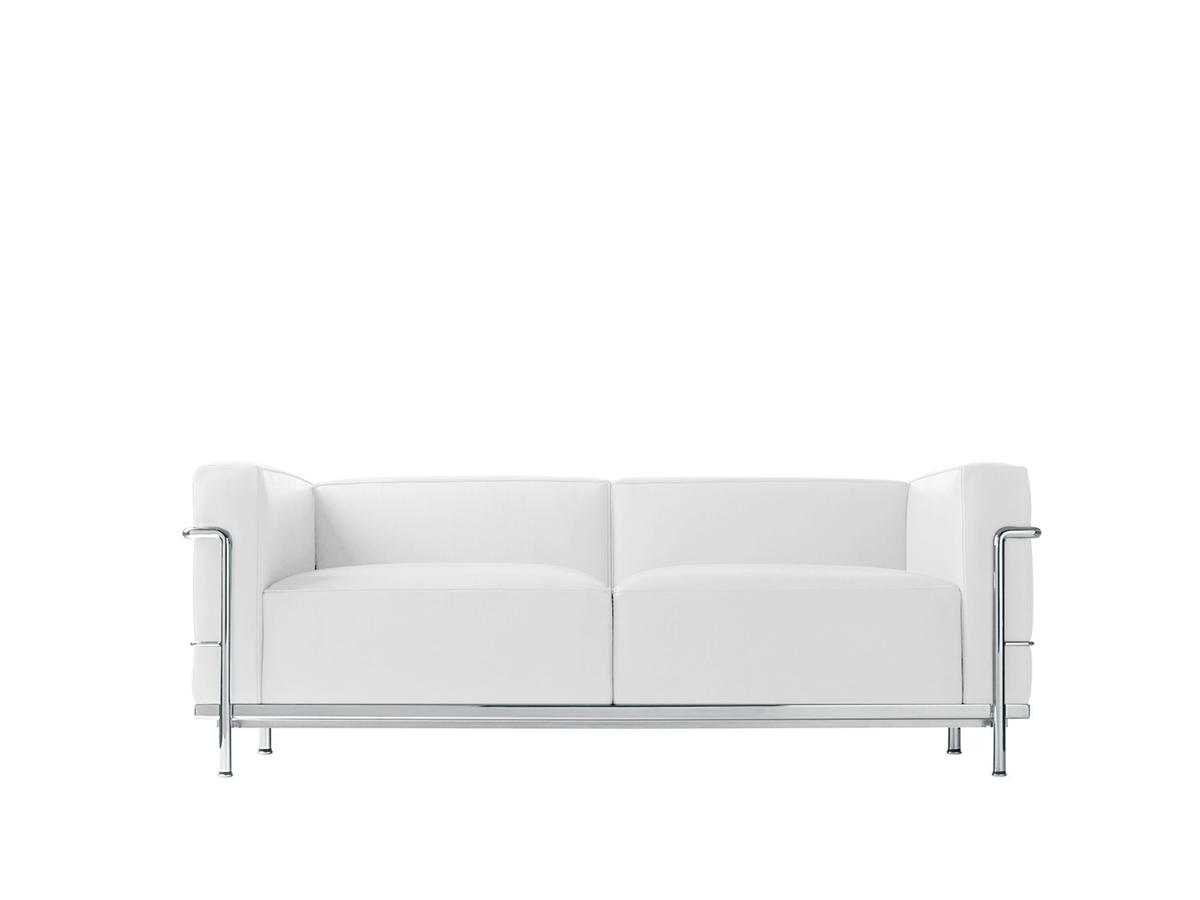 Cina Lc3 Sofa Two Seater Chrome